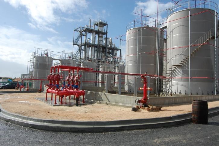 Diageo grand opening - distillery