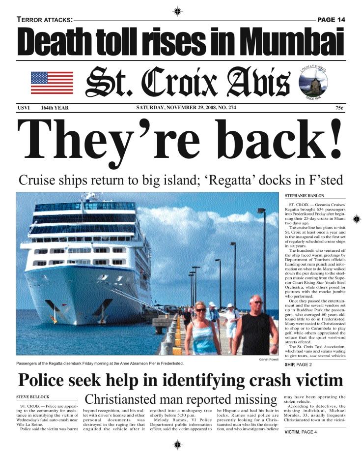 Cruise ships return